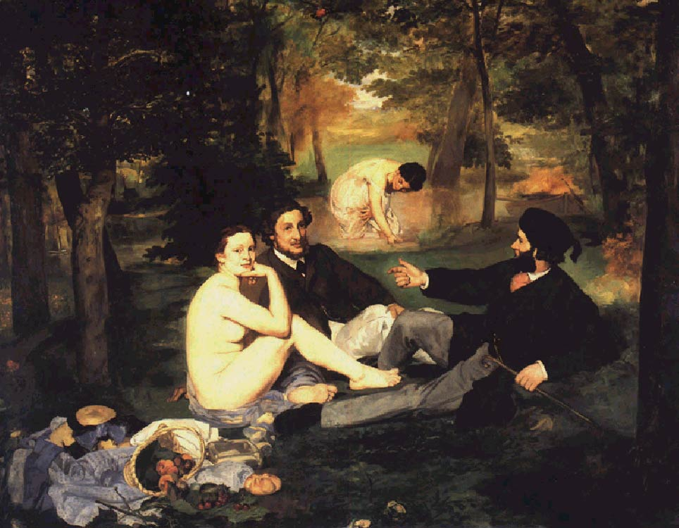 Завтрак на траве, 1863г.