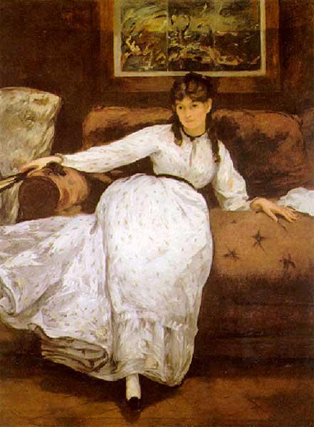 Портрет Берты Моризо, 1870гг.