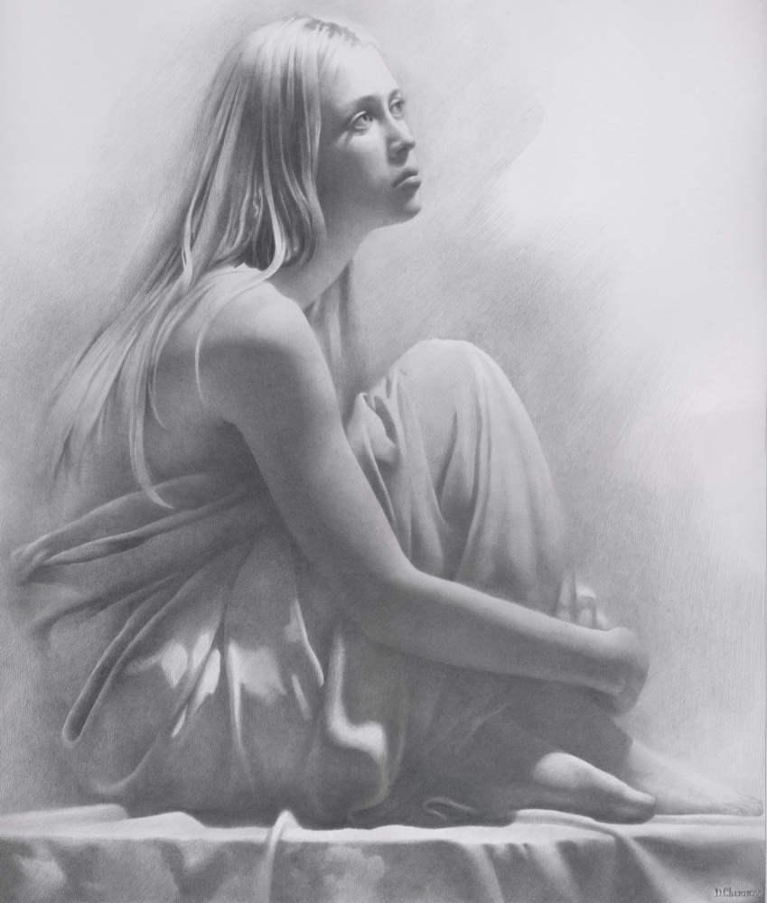 Рисунки карандашом голых девочек 3 фотография