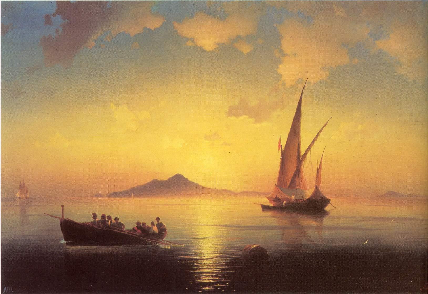 Картины И.К. Айвазовского.  Наиболее известная картина