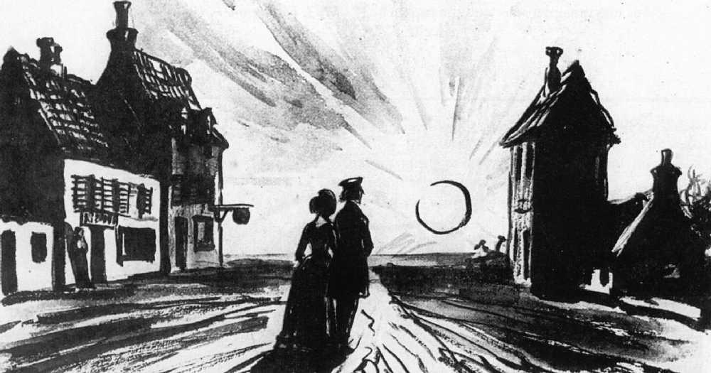Иллюстрация к роману Г. Флобера